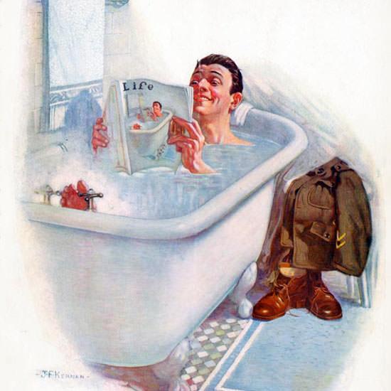 JF Kernan Life Humor Magazine 1919-05-01 Copyright crop | Best of Vintage Cover Art 1900-1970