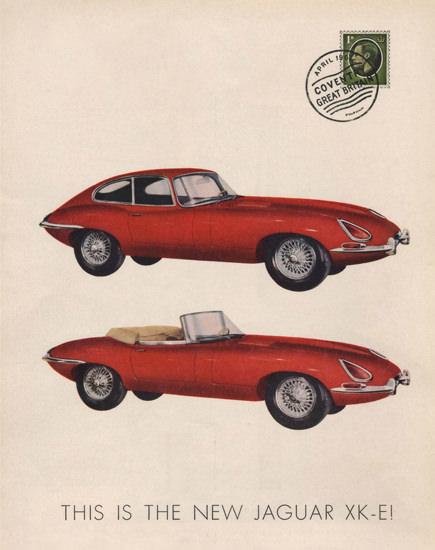 Jaguar E-Type 1961-1963 XK-E Automobile | Vintage Cars 1891-1970