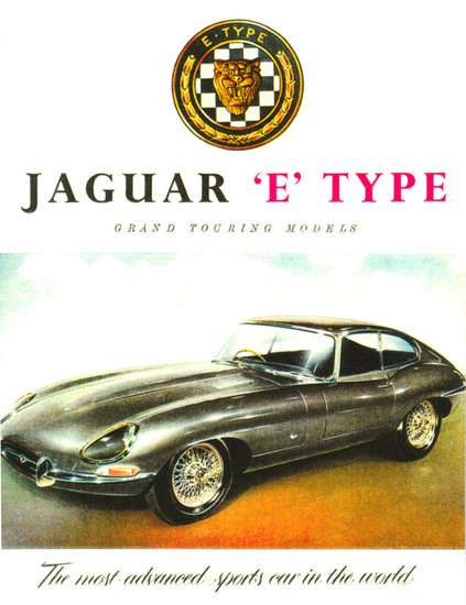 Jaguar No 3 E-Type Coupe 1962 | Vintage Cars 1891-1970