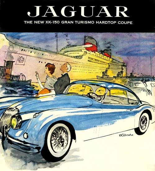 Jaguar XK-150 Gran Turismo Coupe 1957 | Vintage Cars 1891-1970