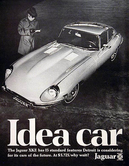 Jaguar XKE Coupe 1969 Idea Car | Vintage Cars 1891-1970