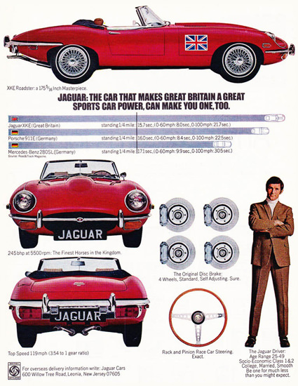 Jaguar XKE Roadster 1970 | Vintage Cars 1891-1970