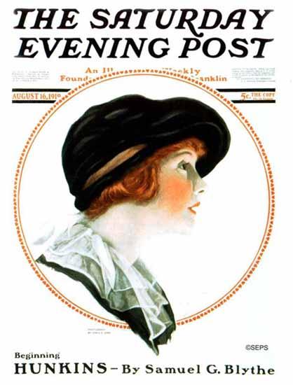 James E Abbe Saturday Evening Post Cover Art 1919_08_16   The Saturday Evening Post Graphic Art Covers 1892-1930