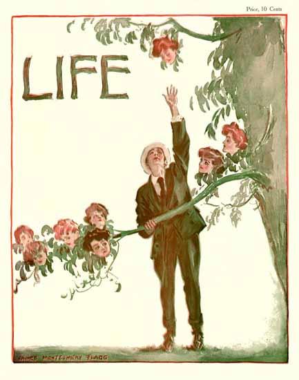 James Montgomery Flagg Life Humor Magazine 1905-09-21 Copyright | Life Magazine Graphic Art Covers 1891-1936
