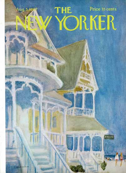 James Stevenson The New Yorker 1967_08_05 Copyright | The New Yorker Graphic Art Covers 1946-1970