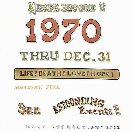James Stevenson The New Yorker 1970_01_03 Copyright crop | Best of Vintage Cover Art 1900-1970