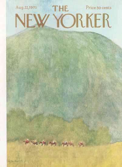 James Stevenson The New Yorker 1970_08_22 Copyright | The New Yorker Graphic Art Covers 1946-1970