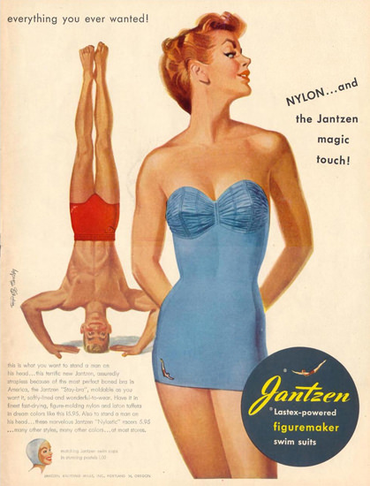 Jantzen Swim Suits Everything You Ever Wanted   Sex Appeal Vintage Ads and Covers 1891-1970