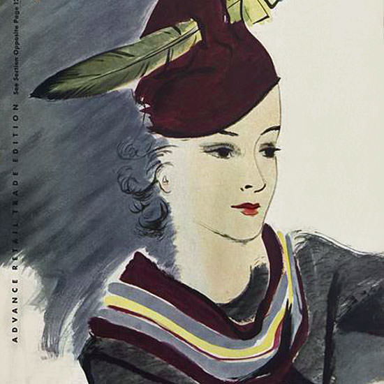 Jean Pages Vogue Cover 1934-10-01 Copyright crop | Best of Vintage Cover Art 1900-1970