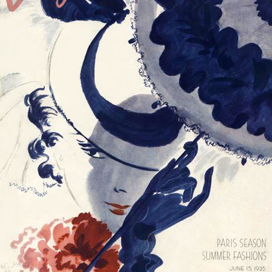 Jean Pages Vogue Cover 1935-06-15 Copyright crop | Best of 1930s Ad and Cover Art