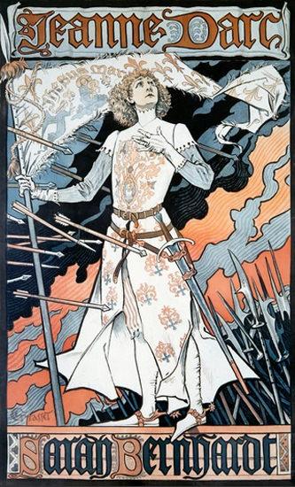 Jeanne Darc Sarah Bernhardt Movie Film | Vintage Ad and Cover Art 1891-1970