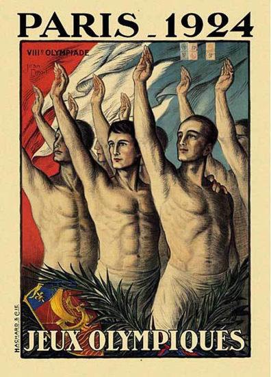 Jeux Olympiques Paris France 1924 | Sex Appeal Vintage Ads and Covers 1891-1970