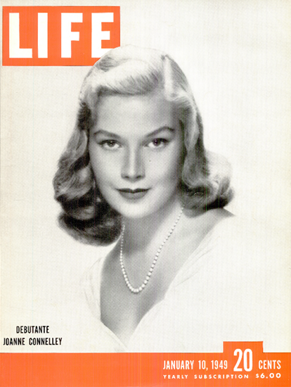 Joanne Connelley Debutante 10 Jan 1949 Copyright Life Magazine | Life Magazine BW Photo Covers 1936-1970