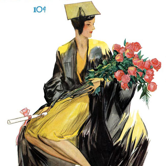 John Holmgren Life Magazine Smart Woman 1929-06-21 Copyright crop | Best of 1920s Ad and Cover Art