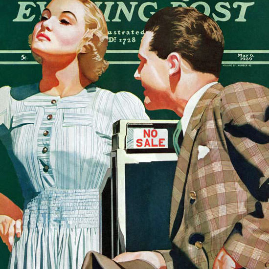 John Hyde Phillips Saturday Evening Post No 1939_05_06 Copyright crop | Best of 1930s Ad and Cover Art