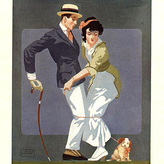 John La Gatta Life Magazine Interned 1915-09-16 Copyright crop | Best of Vintage Cover Art 1900-1970