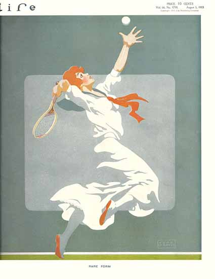 John La Gatta Life Magazine Rare Form 1915-08-05 Copyright | Life Magazine Graphic Art Covers 1891-1936