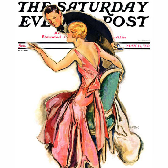 John La Gatta Saturday Evening Post 1930_05_17 Copyright crop | Best of Vintage Cover Art 1900-1970