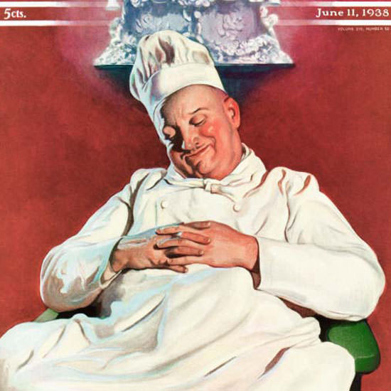 John Newton Howitt Saturday Evening Post 1938_06_11 Copyright crop | Best of 1930s Ad and Cover Art