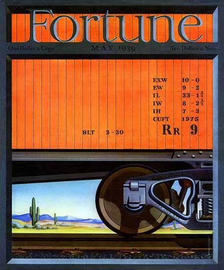 John OHara Cosgrave Fortune Magazine May 1939 Copyright | Fortune Magazine Graphic Art Covers 1930-1959