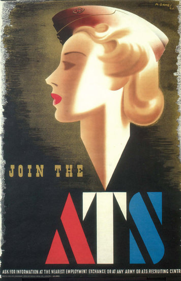 Join The ATS United Kingdom | Vintage War Propaganda Posters 1891-1970