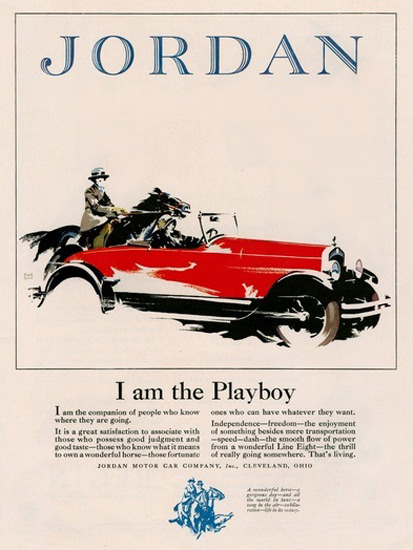 Jordan I Am The Playboy Cleveland Ohio | Vintage Cars 1891-1970