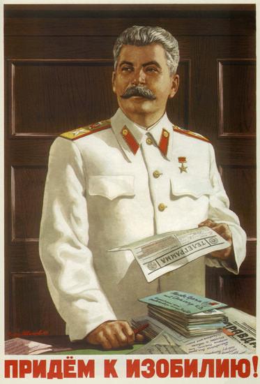 Josef Stalin USSR Russia 2106 CCCP | Vintage War Propaganda Posters 1891-1970