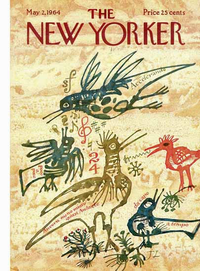 Joseph Low The New Yorker 1964_05_02 Copyright | The New Yorker Graphic Art Covers 1946-1970