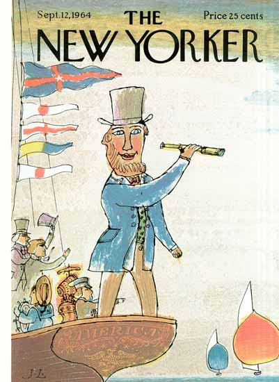 Joseph Low The New Yorker 1964_09_12 Copyright | The New Yorker Graphic Art Covers 1946-1970