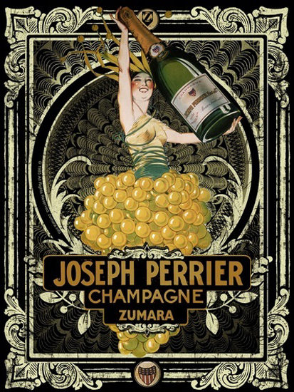 Joseph Perrier Champagne | Sex Appeal Vintage Ads and Covers 1891-1970