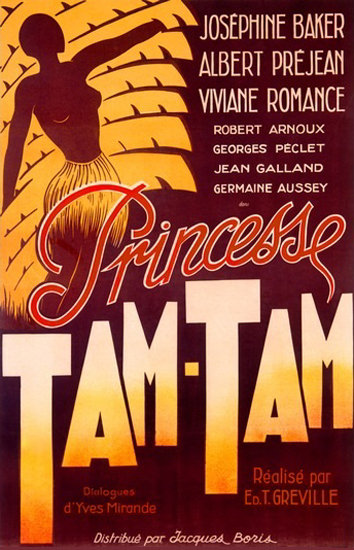 Josephine Baker Princesse Tam-Tam | Sex Appeal Vintage Ads and Covers 1891-1970