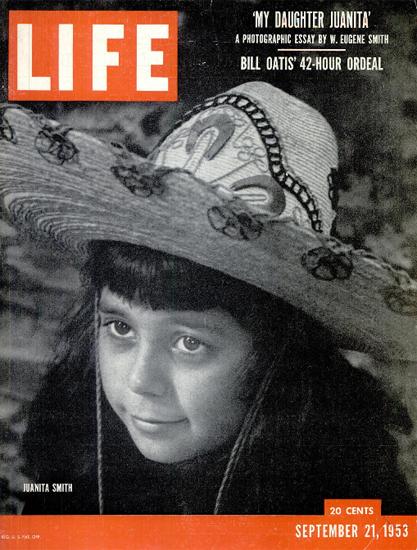 Juanita Smith 21 Sep 1953 Copyright Life Magazine | Life Magazine BW Photo Covers 1936-1970