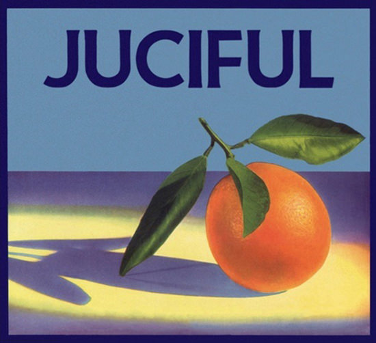 Juciful Orange In Spotlight | Vintage Ad and Cover Art 1891-1970