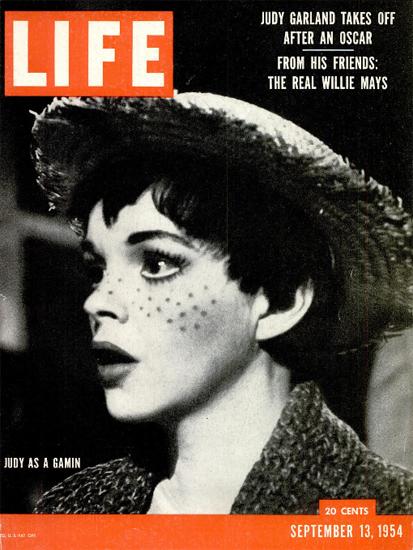 Judy Garland after her Oscar 13 Sep 1954 Copyright Life Magazine | Life Magazine BW Photo Covers 1936-1970