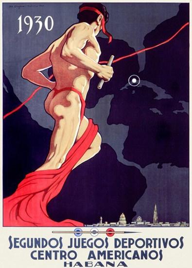 Juegos Deportivos Centro Americanos Cuba 1930 | Sex Appeal Vintage Ads and Covers 1891-1970