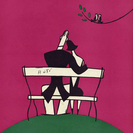 Julian De Miskey The New Yorker 1925_05_23 Copyright crop | Best of Vintage Cover Art 1900-1970