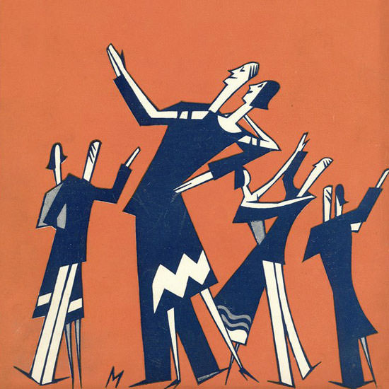 Julian De Miskey The New Yorker 1925_06_06 Copyright crop | Best of Vintage Cover Art 1900-1970