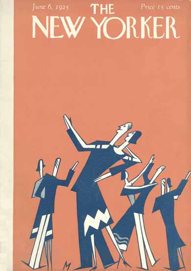 Julian De Miskey The New Yorker 1925_06_06 Copyright | The New Yorker Graphic Art Covers 1925-1945
