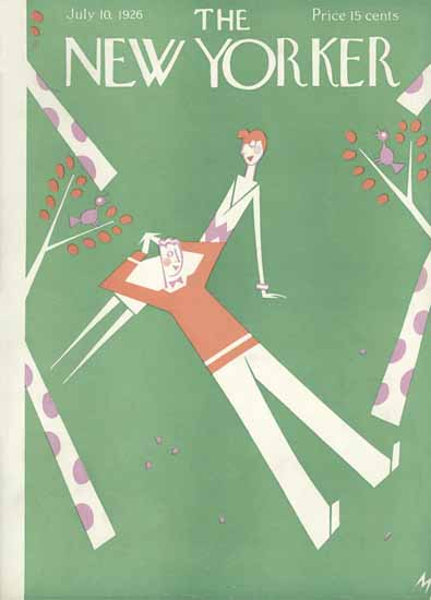Julian De Miskey The New Yorker 1926_07_10 Copyright | The New Yorker Graphic Art Covers 1925-1945