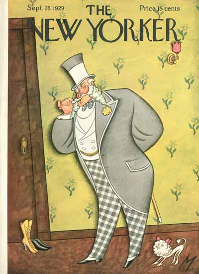 Julian De Miskey The New Yorker 1929_09_28 Copyright | The New Yorker Graphic Art Covers 1925-1945