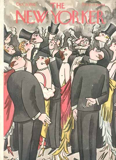 Julian De Miskey The New Yorker 1930_10_18 Copyright | The New Yorker Graphic Art Covers 1925-1945