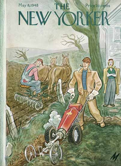 Julian De Miskey The New Yorker 1948_05_08 Copyright   The New Yorker Graphic Art Covers 1946-1970