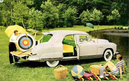 Kaiser Vagabond 1949 PicNic   Vintage Cars 1891-1970