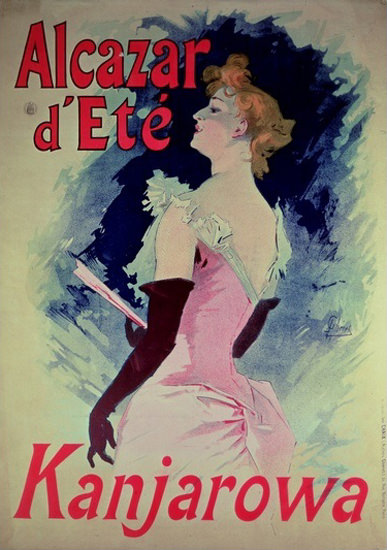 Kanjarowa Alcazar D Ete | Sex Appeal Vintage Ads and Covers 1891-1970