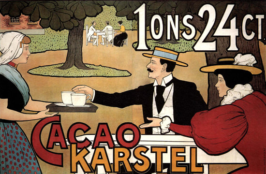 Karstel Cacao Netherlands | Vintage Ad and Cover Art 1891-1970