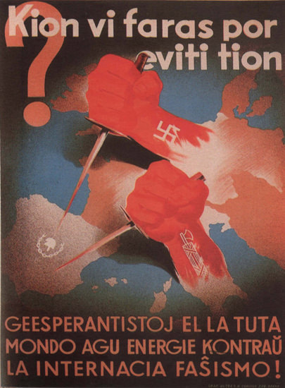 Kion Vi Faras Por Eviti Tion Spain Espana | Vintage War Propaganda Posters 1891-1970
