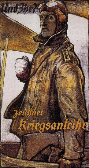Kriegsanleihe Und Ihr Germany War Bonds | Vintage War Propaganda Posters 1891-1970