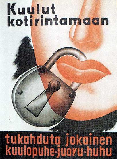 Kuulut Kotirintamaan   Vintage War Propaganda Posters 1891-1970