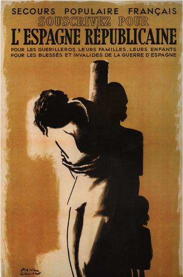 L Espagne Republicaine Spain Espana | Vintage War Propaganda Posters 1891-1970