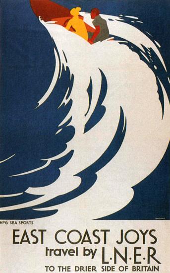 LNER East Coast Joys United Kingdom | Vintage Travel Posters 1891-1970